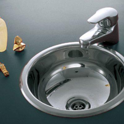 Bacha Acero Johnson Baly 0 250L Baño Vanitory Marmoleria Giacomo Portaro