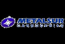 Logo MetalSur clientes Marmolería Portaro